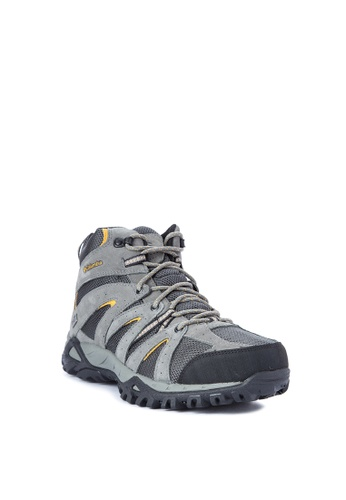 Columbia grey Grand Canyon Mid Outdry Men's Shoes 5697BSHCF1802AGS_1