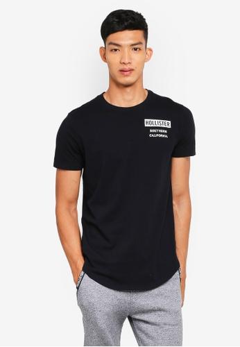 Hollister black Camo Print T-Shirt 9EFE7AAF4416BBGS_1