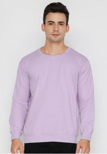 Nyonya Nursing Wear purple Nyonya Nursing Wear - Anka Lilac Sweatshirts 4B315AA2832318GS_1