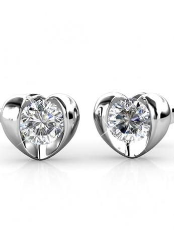 Her Jewellery silver Her Jewellery Simply Love Earrings with 18K Gold Plated 9D51DAC6D6B710GS_1