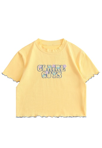 Twenty Eight Shoes Slim Embroidered Short Sleeve T-shirt HH0057 00EFDAA71F3D21GS_1