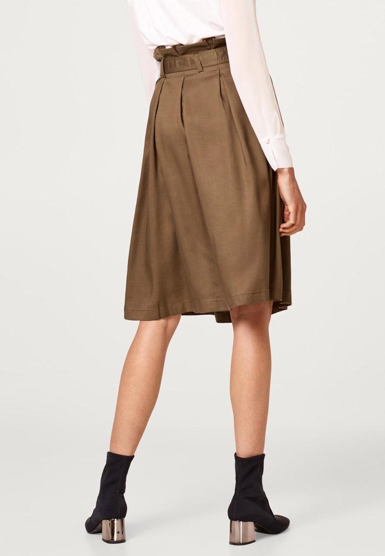 Skirt Midi Khaki Skirt Midi ESPRIT Paperbag Khaki Paperbag ESPRIT ESPRIT wgq860xqF