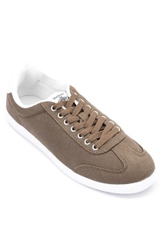 Bahia Canvas Lace-up Sneakers