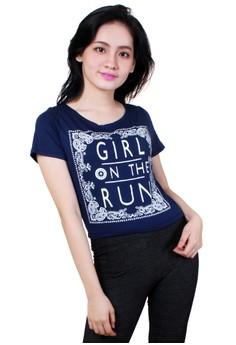 Girl on Run Hanging Blouse