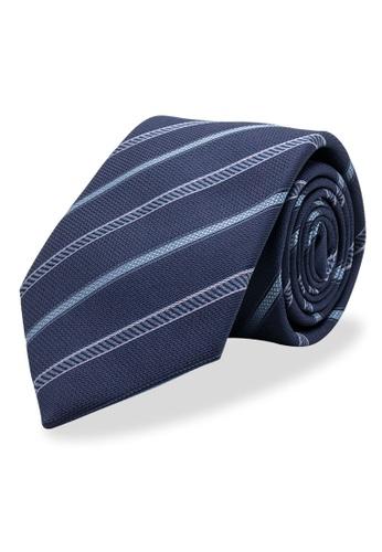 Arden Teal blue Caldas Silk Tie A35CCAC1FCCDF3GS_1