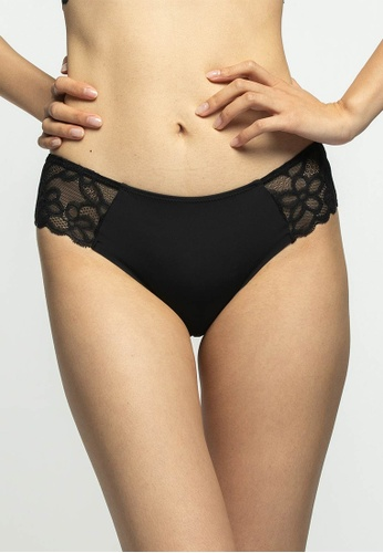 6IXTY8IGHT black KABBY SOLID, Hipster Panty  PT10973 6A650US58E8C3BGS_1