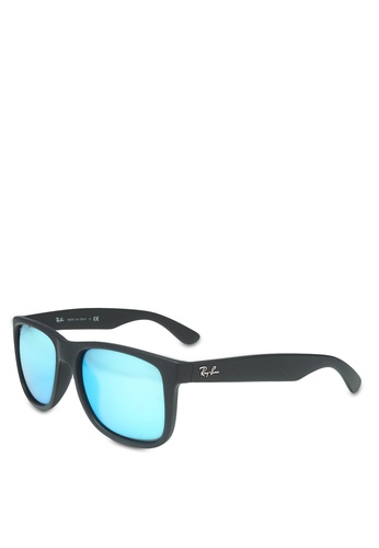Ray-Ban blue Injected Man Sunglasses B1F2AGL06A96FAGS_1