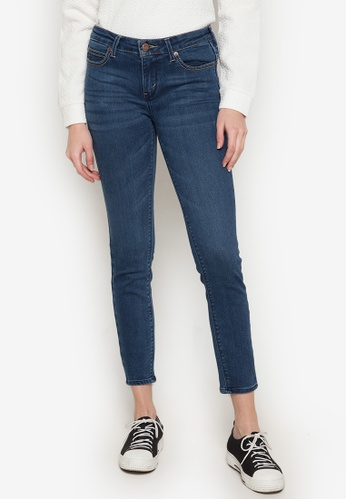 Stylistic Mr. Lee blue Ladies Extreme Skinny Pants (Mid Rise) With Enzyme Bleach MR206AA0JXT2PH_1