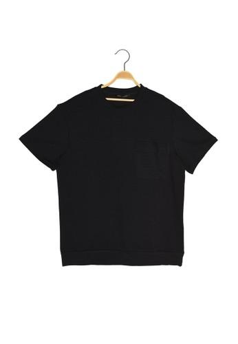 Trendyol navy Short Sleeve Regular Fit Sweatshirt E132AAAFADF473GS_1