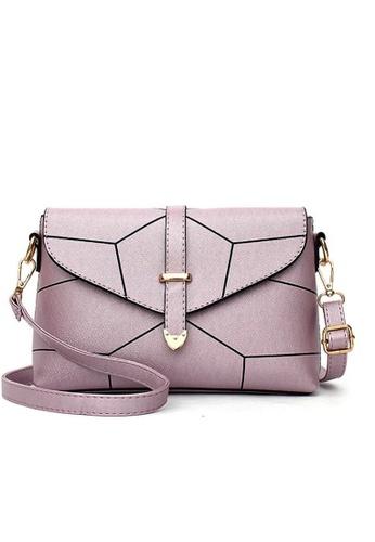 TCWK purple TCWK Korea Style Light Purple Ladies Sling bag TC258AC0S9PZMY_1