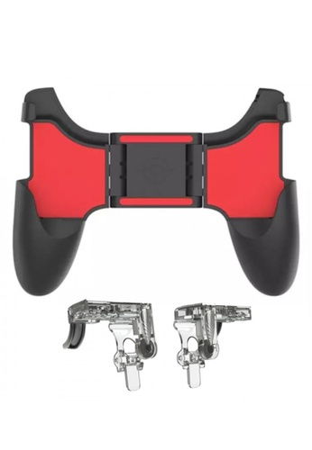 Latest Gadget red MOBILE PHONE GAME CONTROLLER HOLDER GAMEPADS HANDLE GRIP CLIP STAND 03BC8ES9CF08D4GS_1