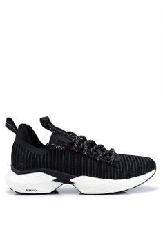 a86f53055 Reebok black Running Sole Fury Floatride Shoes 93CAFSH6DB6A04GS 1