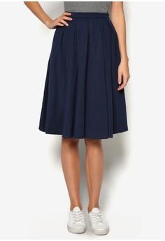 Basic Midi Flare Skirt