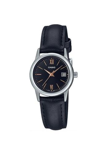 Casio black CASIO GENERAL LTP-V002L-1B3UDF WOMEN'S WATCH 093C3AC0525610GS_1