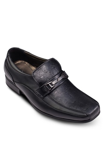 esprit香港分店暗紋樂福正裝皮鞋, 鞋, 鞋