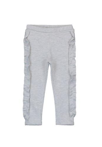 LC Waikiki grey Ruffle Pants D1900KADFB8E61GS_1