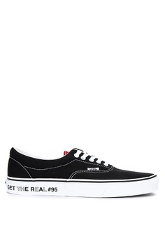 7f22e29e05ebd VANS black Get the Real  95 Era Sneakers C4EF6SH69DE150GS 1