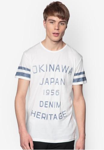 Ballou 文字設計esprit 香港 outletTEE, 服飾, 印圖T恤