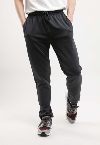 FOREST grey Forest Plus  Size Stretchable Long Pants - PL10722 - 03DkGrey E979AAAA927B6DGS_1