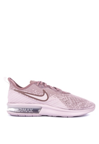 Nike pink Nike Air Max Sequent 4 Shoes CB7E9SH40EE47FGS 1 0fab44174