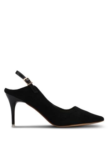 Something Borrowed black Slingback Heels DA76CSH5BD3003GS_1