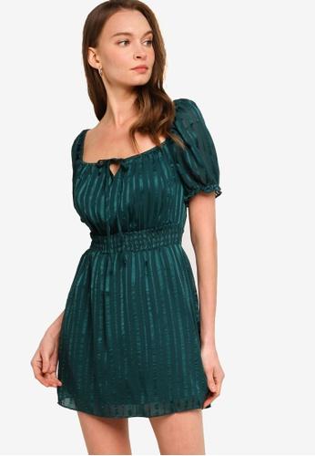 Calli green Elysia Mini Dress 9D149AA2AC6AA8GS_1
