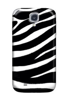 Zebra Print Glossy Hard Case for Samsung S4