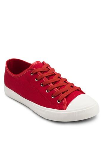帆布繫帶運動鞋, esprit官網鞋, 休閒鞋
