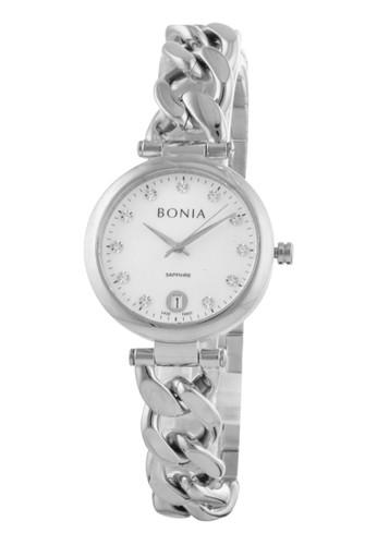 Bonia silver Bonia B10437-2357 - Jam Tangan Wanita - Silver 2EC82AC0990D54GS_1