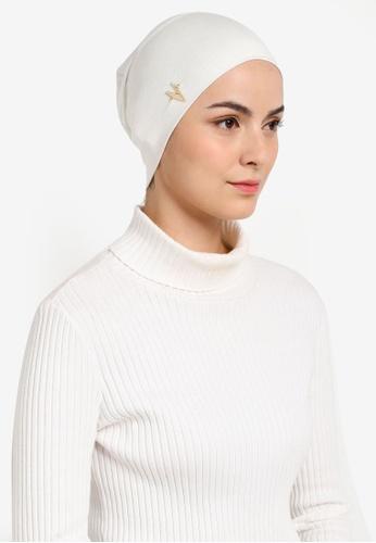 VERCATO white Premium Lyna Inner Snowcap Cotton Lycra 17FD4AA1D4182DGS_1