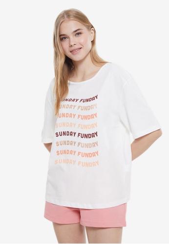 Trendyol 多色 Funday 睡衣組 D7D74AAE76074CGS_1