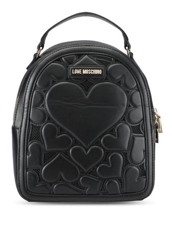 Love Moschino black Borsa Lamb Backpack LO478AC0SEIZMY_1