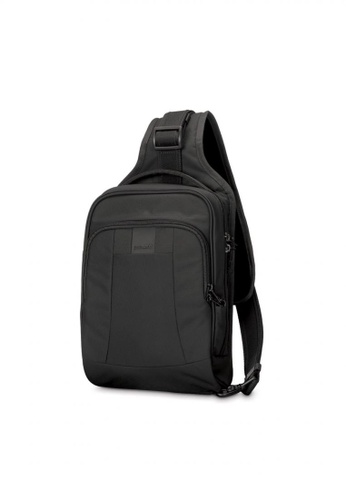 Pacsafe black Pacsafe Metrosafe LS150 Anti-Theft Sling Backpack (Black) 06E41AC93C13D1GS_1