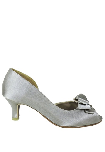 Jacque silver Nadia Silver Low Heel JA262SH49LXUMY_1