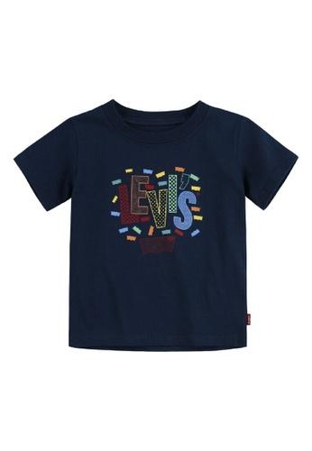 Levi's Kids blue LEVIS Little Boy Graphic Tee 33C92KA2CB0E44GS_1