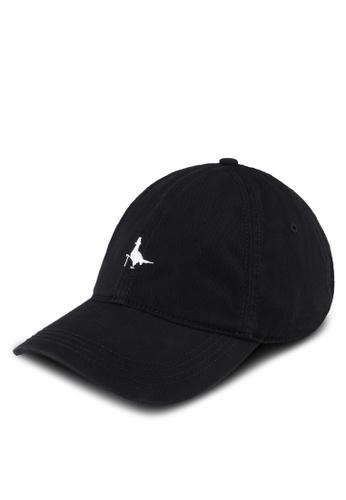 Jack Wills black Enfield Pheasant Cap 5FC20AC0DA8345GS_1