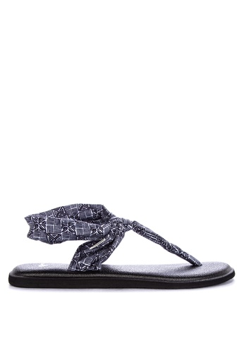 3bc73a710 Shop Sanuk Yoga Sling Ella Print Sandals Online on ZALORA Philippines