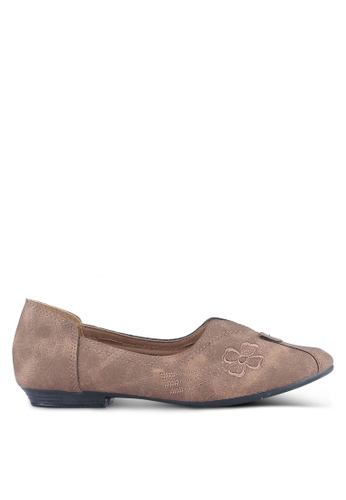 Louis Cuppers brown Louis Cuppers Flats LO977SH0S9SZMY_1