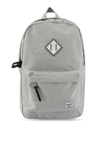 Herschel grey Heritage M Backpack 3A901AC06572D1GS_1
