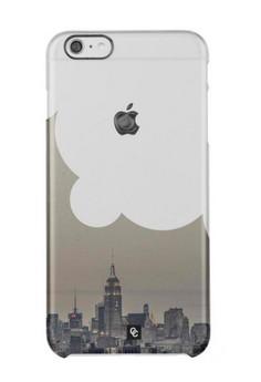 Casey Crazy - City Cloud Semi -Transparent Hard Case for iPhone 6
