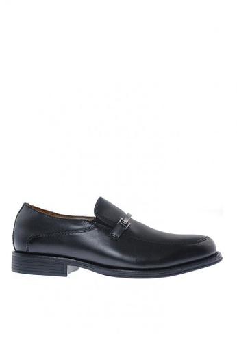 Sebago black Flume Bit Formal Shoes 3B4EDSH500559EGS_1