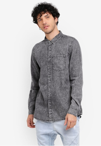 Cotton On black 91 Shirt CO372AA0SS9WMY_1