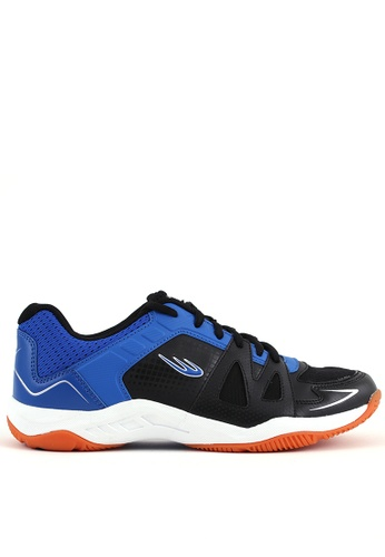 World Balance black and blue Deuce Court Mens Sports Shoes 0F364SH1017F5CGS_1