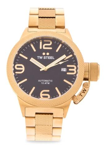 TW Steel gold CB95 Canteen Bracelet Analog Watch TW310AC0KMB2PH_1