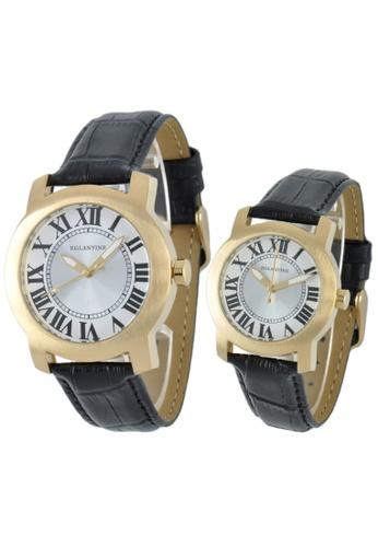EGLANTINE gold EGLANTINE® Emile & Emily - 2 Quartz Yellow Gold Plated Watches (2 watches) EE53BACB39073CGS_1