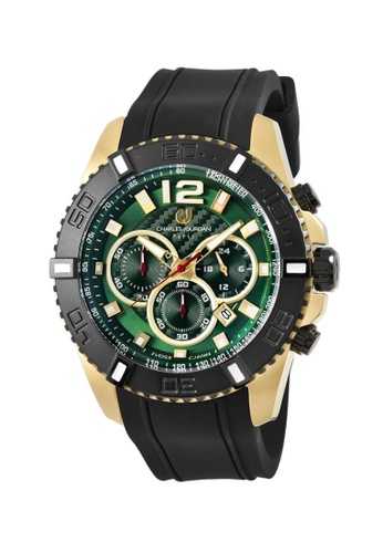 Charles Jourdan green Charles Jourdan Men Watch Chronograph CJ1081-1295C 10519ACEA42DD2GS_1