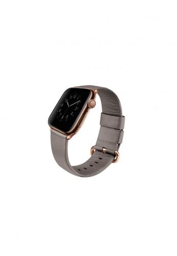 Uniq beige Uniq Mondain Apple watch 4 Genuine Leather strap 44mm - Sand Beige DCA24ESB9AB7BCGS_1