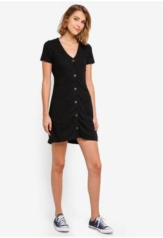 04663cc6d3e Cotton On Marlow Button Through Mini Dress S  29.99. Sizes XXS XS S M L