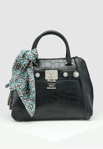 Buy Guess Anne Marie Dome Satchel Bag Online on ZALORA Singapore 96d0255a4c07c