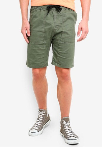 Factorie green Walk Shorts 23C1EAA71BA530GS_1